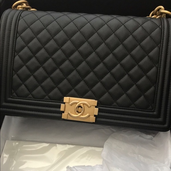 d168881deefa CHANEL Bags | Authentic Boy Bag Used Just Twice Only | Poshmark